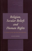 Religion, Secular Beliefs and Human Rights