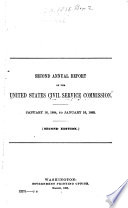 Annual Report of the United States Civil Service Commission