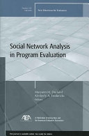 Social Network Analysis In Program Evaluation