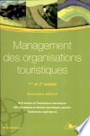 Management des organisations touristiques