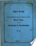 Jahresbericht des unter dem allerhöchsten Schutze Ihrer Majestät der Kaiserin Maria Anna stehenden ersten allgemeinen Kinderspitales