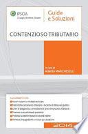 Contenzioso tributario   2014