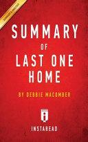 Summary Of Last One Home
