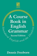 A Course Book in English Grammar