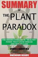 Summary of the Plant Paradox Book PDF