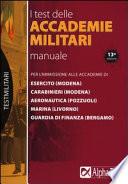 I test delle accademie militari. Manuale