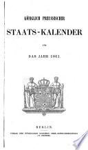 Königlich preußischer Staats-Kalender