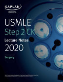 Usmle Step 2 Ck Lecture Notes 2020 Surgery