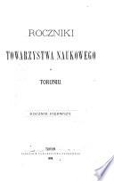 Roczniki Towarzystwa Naukowego w Toruniu
