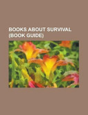 Books about Survival