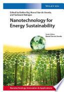 Nanotechnology for Energy Sustainability  3 Volume Set