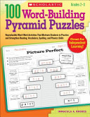 100 Word Building Pyramid Puzzles