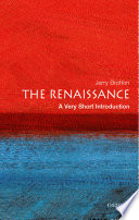 The Renaissance  A Very Short Introduction
