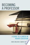 Becoming a Professor