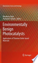 Environmentally Benign Photocatalysts book