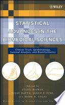 Statistical Advances In The Biomedical Sciences