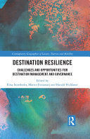 Destination Resilience : trends on different levels, to consider socio-economic developments...