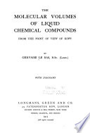 The Molecular Volumes of Liquid Chemical Compounds  from the Point of View of Kopp