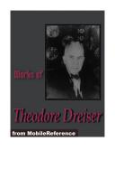 Works of Theodore Dreiser