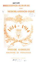 Regeeringsalmanak voor Nederlandsch-Indie ...