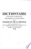 Dictionnaire G  ographique  Historique Et Politique Des Gaules Et De La France