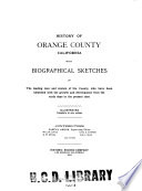 History of Orange County, California