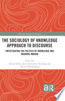 The Sociology Of Knowledge Approach To Discourse