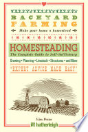 Backyard Farming  Homesteading