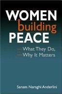 Women building peace