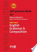 High School English Grammar and Composition Self practice Book
