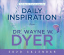 Daily Inspiration From Dr. Wayne W. Dyer 2020 Cale