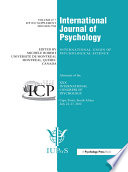 Xxx International Congress Of Psychology Abstracts