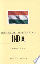 Historical Dictionary of India The Seventh Largest By Geographical