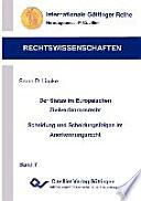Der Status im Europäischen Zivilverfahrensrecht