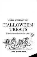 Halloween Treats book