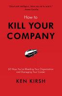 download ebook how to kill your company pdf epub