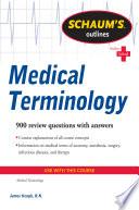Schaum s Outline of Medical Terminology