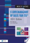It Servicemanagement Op Basis Van Itil 2011 Editie