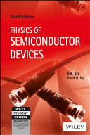 PHYSICS OF SEMICONDUCTOR DEVICES  3RD ED