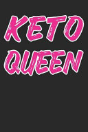 Keto Queen Keto Diet Planner Ketogenic High Fat Diet Notebook Ketosis Diary