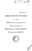 Constitutions  afterw   Constitutions  orders and regulations