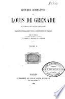 Oeuvres complètes de Louis de Grenade