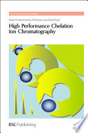 High Performance Chelation Ion Chromatography