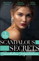 Book Scandalous Secrets  Scandalous Reputation