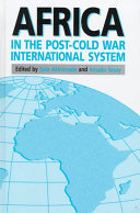 Africa in the post-Cold War international system