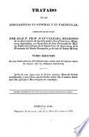 Tratado de las Indulgencias en General y en Particular