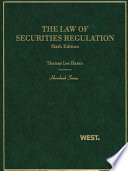 The Law of Securities Regulation  6th  Hornbook Series