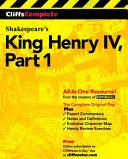 CliffsComplete King Henry IV