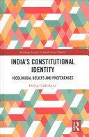 India's constitutional identity : ideological beliefs and preferences document cover
