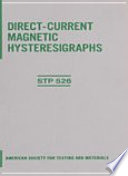Direct Current Magnetic Hysteresigraphs book